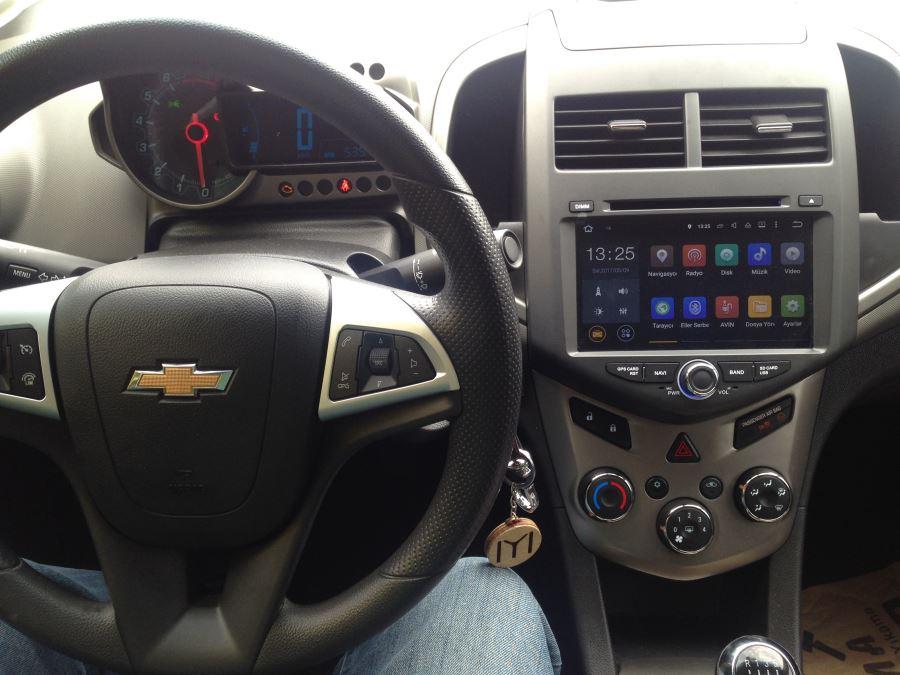 Navimex  Chevrolet Avoe montaj görüntüleri