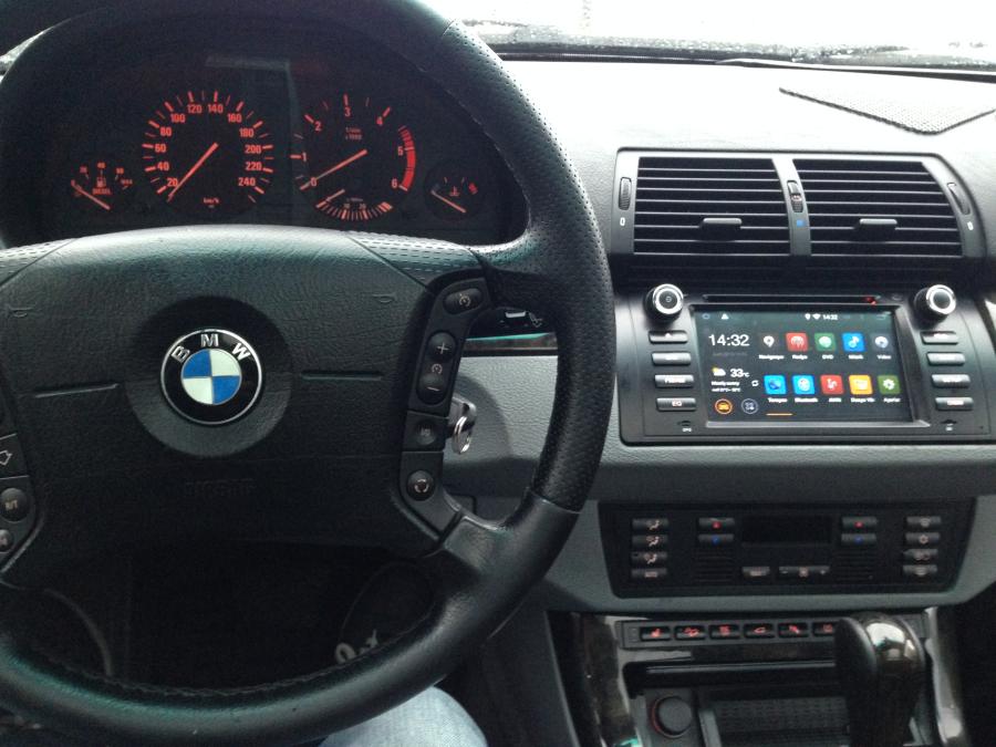 NAVIMEX BMW E39 montaj görüntüleri