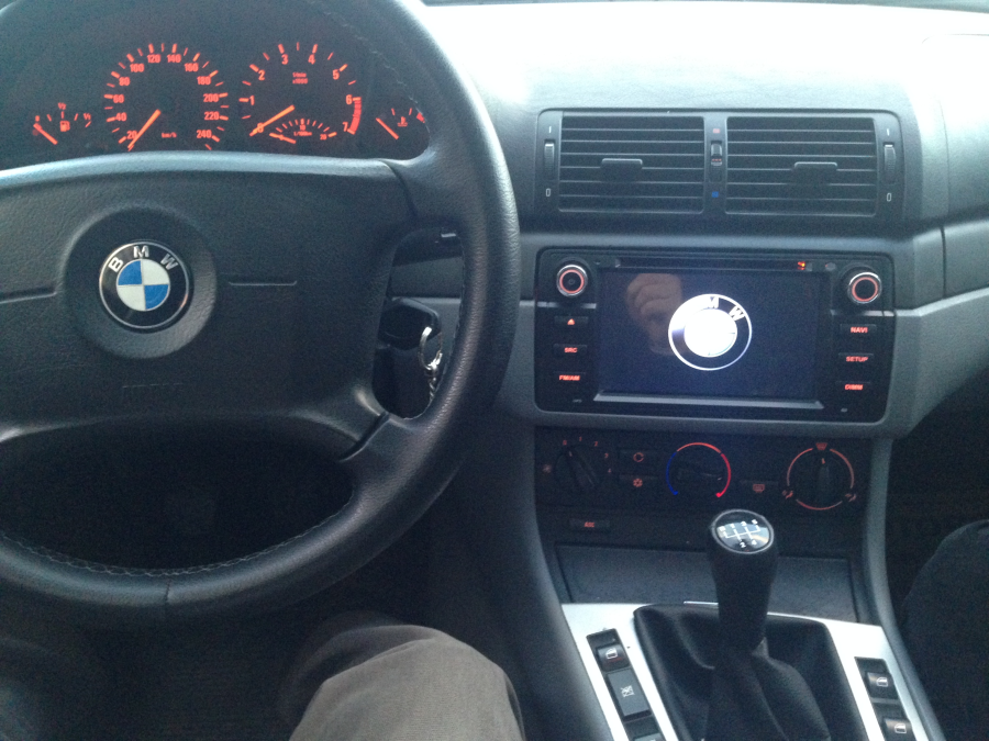 NAVIMEX BMW E46 montaj görüntüleri