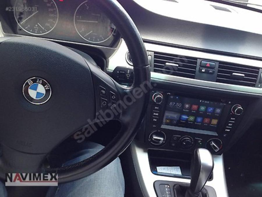 NAVIMEX BMW E90 Dijital Klima montaj görüntüleri