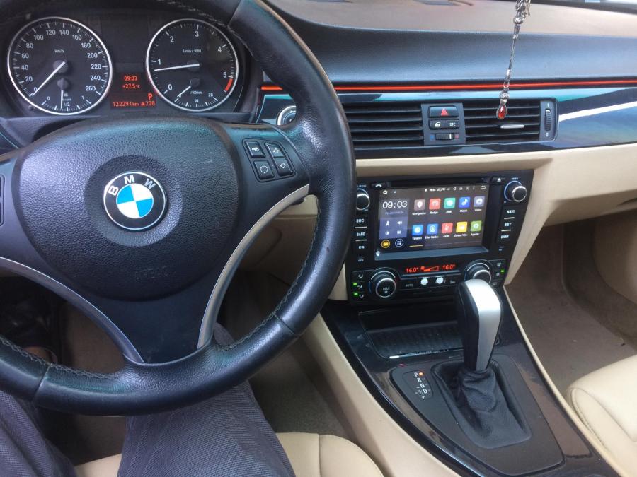 NAVIMEX BMW E91 Dijital Klima montaj görüntüleri