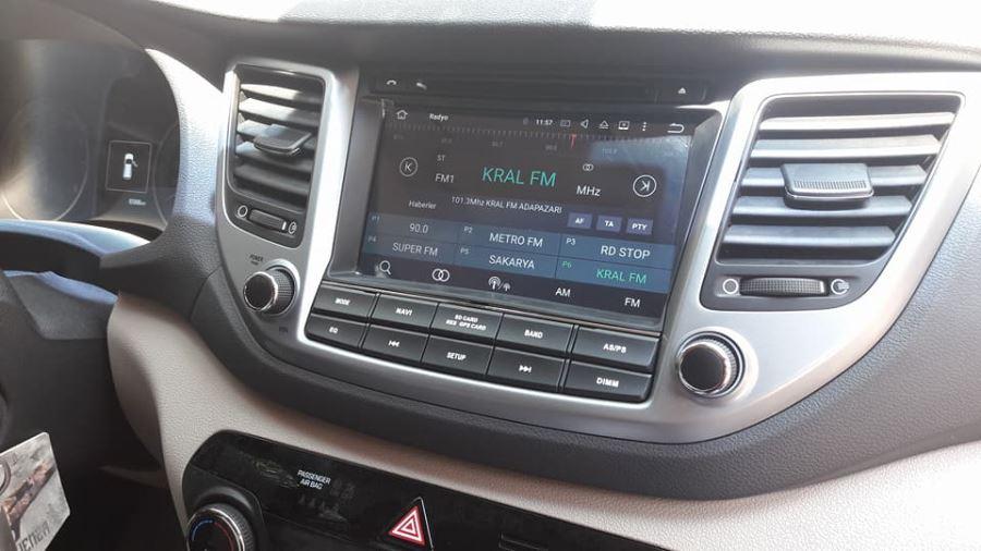 Navimex Hyundai Tucson montaj görüntüleri