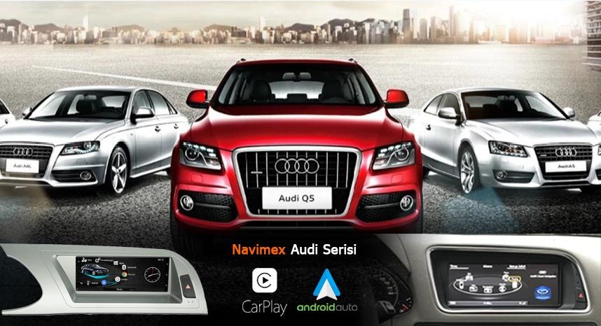 Audi Serisi navigasyon navimex